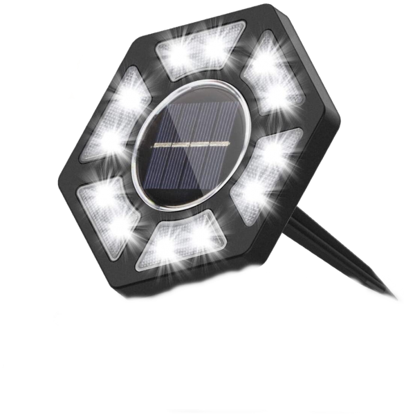Solar LED lamp set (4 pcs)